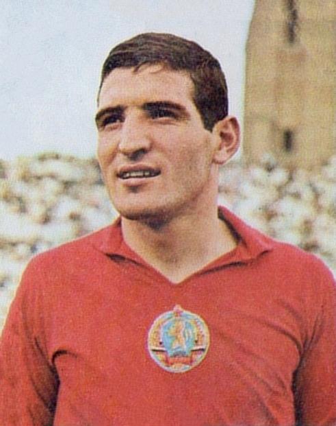 Димитър Пенев като футболист 1974