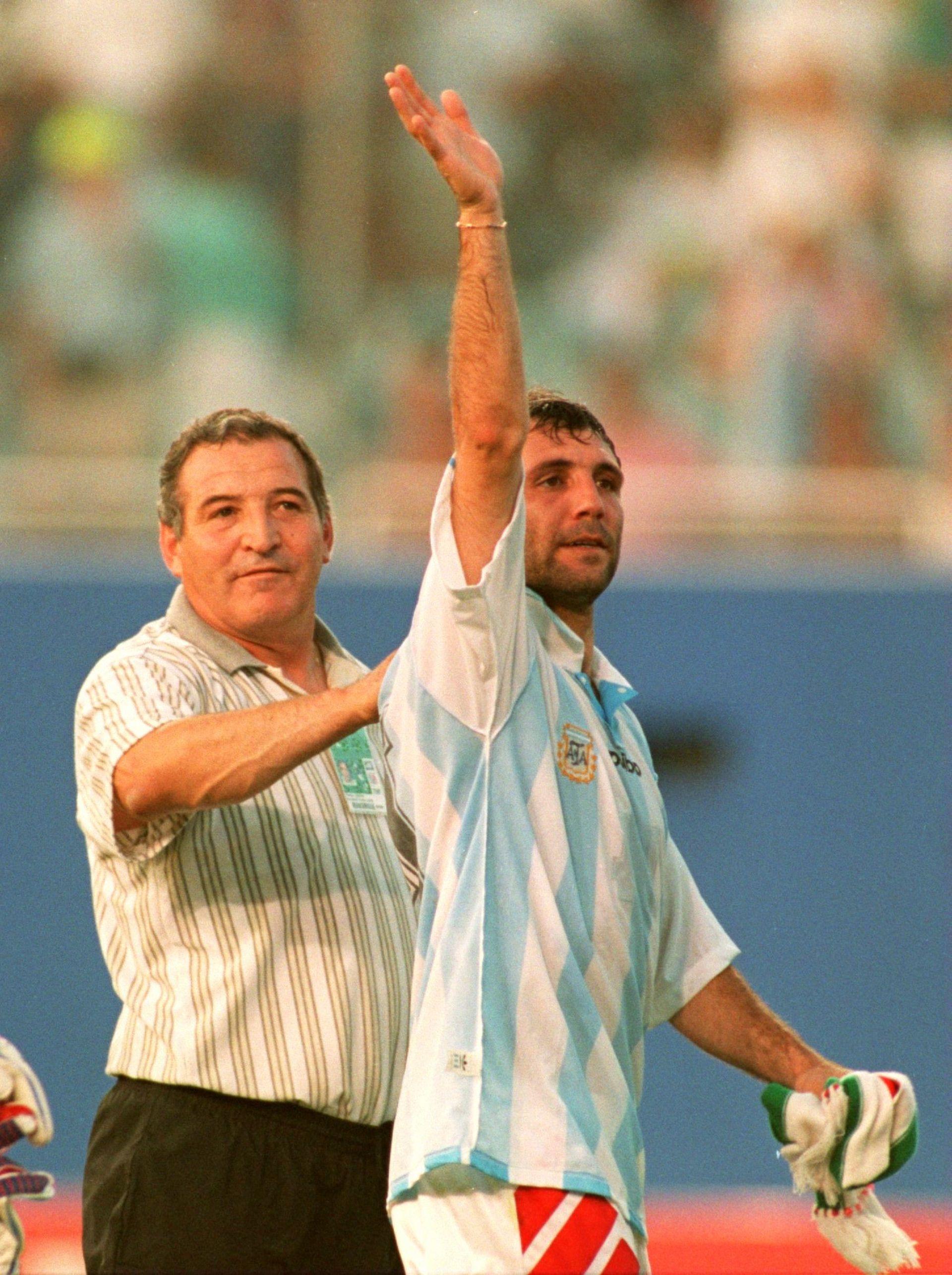Стоичков след мача с Аржентина