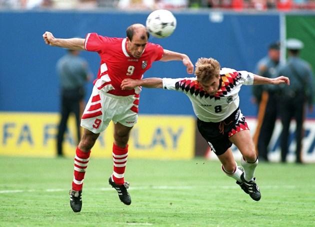 Йордан Лечков срещу Германия