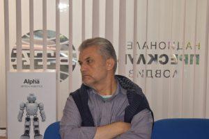 """Диан Никифоров на пресконференцията на Технофилм """"Героите от САЩ '94"""""""